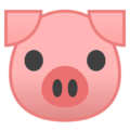 Pig Face on Google Android 10.0
