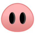 Pig Nose on Google Android 10.0