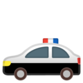 Police Car on Google Android 10.0