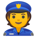 Police Officer on Google Android 10.0