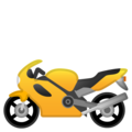 Motorcycle on Google Android 10.0