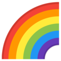 Rainbow on Google Android 10.0