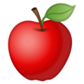 Red Apple on Google Android 10.0