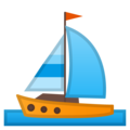 Sailboat on Google Android 10.0
