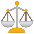 Balance Scale on Google Android 10.0