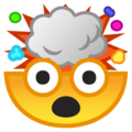 Exploding Head on Google Android 10.0