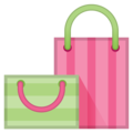 Shopping Bags on Google Android 10.0