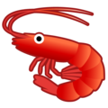 Shrimp on Google Android 10.0