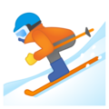 Skier on Google Android 10.0