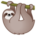 Sloth on Google Android 10.0