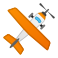Small Airplane on Google Android 10.0