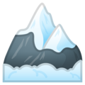 Snow-Capped Mountain on Google Android 10.0