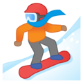Snowboarder: Medium Skin Tone on Google Android 10.0