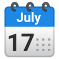 Spiral Calendar on Google Android 10.0