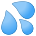 Sweat Droplets on Google Android 10.0