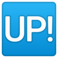 Up! Button on Google Android 10.0