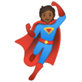 Superhero: Medium-Dark Skin Tone on Google Android 10.0