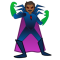 Supervillain: Medium-Dark Skin Tone on Google Android 10.0