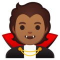 Vampire: Medium Skin Tone on Google Android 10.0