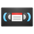 Videocassette on Google Android 10.0
