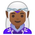 Woman Elf: Medium-Dark Skin Tone on Google Android 10.0
