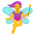 Woman Fairy on Google Android 10.0