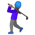Woman Golfing: Medium Skin Tone on Google Android 10.0