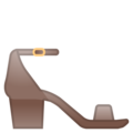 Woman's Sandal on Google Android 10.0