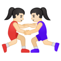 Women Wrestling, Type-1-2 on Google Android 10.0