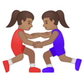 Women Wrestling, Type-4 on Google Android 10.0
