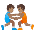 Wrestlers, Type-4 on Google Android 10.0