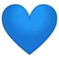 Blue Heart on Google Android 10.0 March 2020 Feature Drop