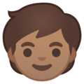 Child: Medium Skin Tone on Google Android 10.0 March 2020 Feature Drop