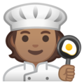 Cook: Medium Skin Tone on Google Android 10.0 March 2020 Feature Drop