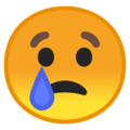 Crying Face on Google Android 10.0 March 2020 Feature Drop