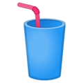 Cup with Straw on Google Android 10.0 March 2020 Feature Drop