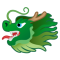 Dragon Face on Google Android 10.0 March 2020 Feature Drop
