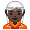 Elf: Dark Skin Tone on Google Android 10.0 March 2020 Feature Drop