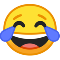 Face with Tears of Joy on Google Android 10.0 March 2020 Feature Drop
