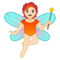 Fairy: Light Skin Tone on Google Android 10.0 March 2020 Feature Drop
