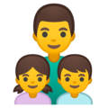 Family: Man, Girl, Boy on Google Android 10.0 March 2020 Feature Drop