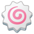 Fish Cake with Swirl on Google Android 10.0 March 2020 Feature Drop