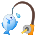 Fishing Pole on Google Android 10.0 March 2020 Feature Drop