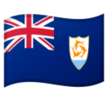 Flag: Anguilla on Google Android 10.0 March 2020 Feature Drop
