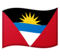 Flag: Antigua & Barbuda on Google Android 10.0 March 2020 Feature Drop