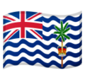 Flag: British Indian Ocean Territory on Google Android 10.0 March 2020 Feature Drop