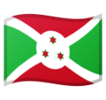 Flag: Burundi on Google Android 10.0 March 2020 Feature Drop