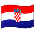 Flag: Croatia on Google Android 10.0 March 2020 Feature Drop