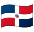 Flag: Dominican Republic on Google Android 10.0 March 2020 Feature Drop