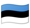 Flag: Estonia on Google Android 10.0 March 2020 Feature Drop